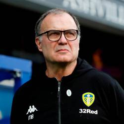 FILE PHOTO: Soccer Football - FA Cup Third Round - Queens Park Rangers v Leeds United - Loftus Road, London, Britain - January 6, 2019 Leeds manager Marcelo Bielsa Action Images/Paul Childs/File Photo