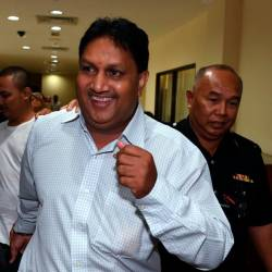 Former special officer to a DAP state assemblyman L. Prem Anand, 52, was released from the George Town magistrates' court today after being sentenced to three years' jail and a RM7,000 fine after being found guilty of outraging the modesty of a 21-year-old woman two years ago. - Bernama