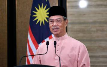 Prime Minister Tan Sri Muhyiddin Yassin in a special address aired over national television today.