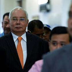Former prime minister Datuk Seri Najib Abdul Razak was ordered to enter his defence on seven charges of misappropriating RM42 million in SRC International Sdn Bhd funds, today. — Bernama