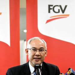 No report on FGV's subsidiaries involvement in open burning: CEO