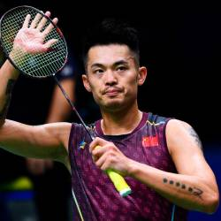 Chinese badminton superstar Lin Dan retires at 36