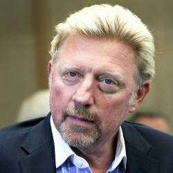 Boris Becker auctions trophies to pay off debts