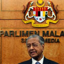 Tanjung Piai allocations not meant to buy votes: Mahathir