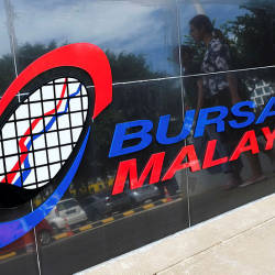 Bursa Malaysia opens lower after a sharp fall on Wall Street