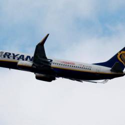 A Ryanair commercial passenger jet takes off in Blagnac near Toulouse, France, May 29, 2019. — Reuters