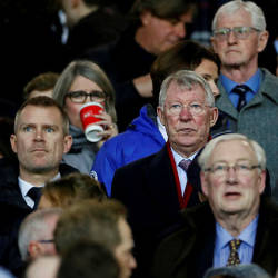 Former Manchester United manager Sir Alex Ferguson. — Reuters