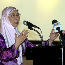 Female labour force must be utilised: Wan Azizah