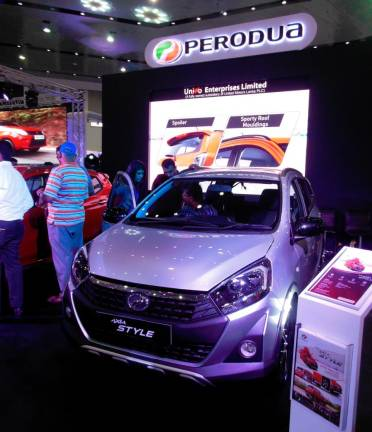 Perodua Axia Style makes Sri Lankan debut