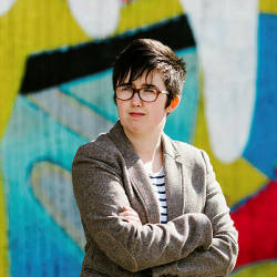 A handout picture released by Jess Lowe Photography on April 19, 2019 and taken on May 19, 2017 shows journalist and author Lyra McKee posing for a photograph in Belfast. — AFP