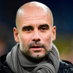 In this file photo taken on November 06, 2019 Manchester City's Spanish manager Pep Guardiola attends the UEFA Champions League Group C football match Atalanta Bergamo vs Manchester City at the San Siro stadium in Milan. - AFP