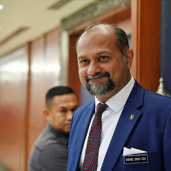 DAP will not work with Umno: Gobind