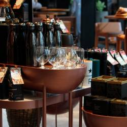 The Starbucks Reserve store makes exceptional coffee accessible to all.