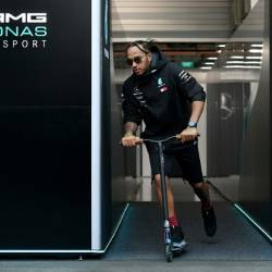 Lewis Hamilton is chasing a ninth win of the F1 season in Singapore. — AFP