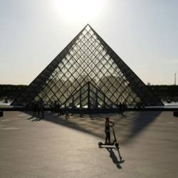 Paris's iconic Louvre is believed to be the first museum in the world to remove the Sackler name over the opioid crisis. — AFP