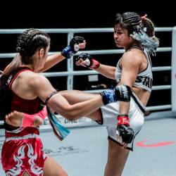 Stamp Fairtex retains ONE Atomweight Muay Thai world title