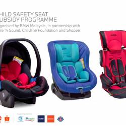 BMW Malaysia teams up with two partners for child seat subsidy programme