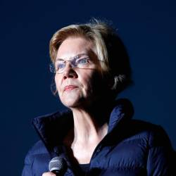 2020 Democratic presidential candidate US Sen Elizabeth Warren (D-MA) speaks during a town hall event at Laney College prior to the California Democratic Convention in Oakland, California, US, May 31, 2019. - Reuters