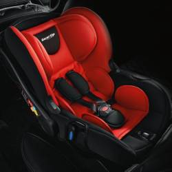 The Perodua GearUp Isofix Infant Seat is designed for infants weighing up to 13kg and is available in red or grey.