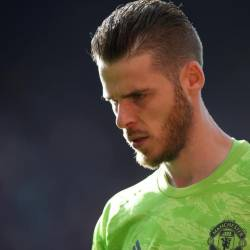 Manchester United's David de Gea during the Manchester United v Leicester City match at Old Trafford, Manchester, Britain on Sept 14.