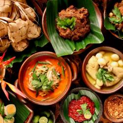 Variety of Traditional Malaysian Delicacies at Swiss-Garden Beach Resort Damai Laut.