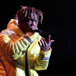 In this file photo taken on Oct 28, 2018, Rapper Juice Wrld performs at Power 105.1's Powerhouse 2018 at Prudential Center in Newark, New Jersey. — AFP