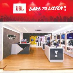Harman Studio's first flagship store and showroom in Sunway Geo Avenue. — Sunpix by Azizul Rahman Ismail