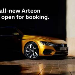 All-new Volkswagen Arteon, from RM290k to RM310k