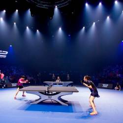 Japanese stars sent packing on Day 2 of table tennis tourney