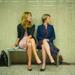 Laura Dern (left) and Scarlett Johansson star in 'Marriage Story'.