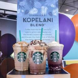 The three new frappuccino blended beverages. SUNPIX by ADIB RAWI YAHYA