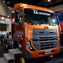 New UD Trucks with ESCOT