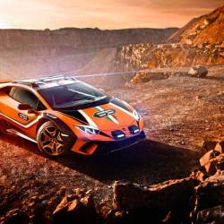 Lamborghini unveils supercar designed for off-roading