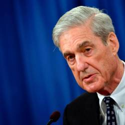 Special Counsel Robert Mueller speaks on the investigation into Russian interference in the 2016 Presidential election, at the US Justice Department in Washington, DC. — AFP