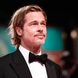Actor Brad Pitt arrives on August 29, 2019 for the screening of the film 'Ad Astra' during the 76th Venice Film Festival at Venice Lido. — AFP Relaxnews