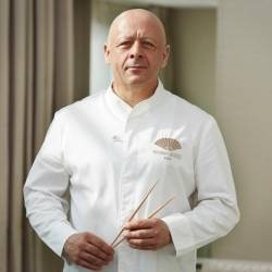 Thierry Marx, who has been awarded two Michelin stars, is the chef at the Mandarin Oriental in Paris. — AFP Relaxnews