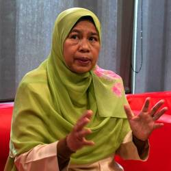 Housing and Local Government Minister Zuraida Kamaruddin. — Bernama