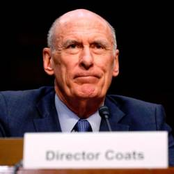 Director of National Intelligence Dan Coats. — Reuters