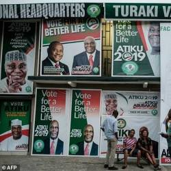 Nigeria's presidential and parliamentary elections have been postponed for a week due to logistical problems. — AFP