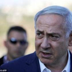 Israeli Prime Minister Benjamin Netanyahu, pictured Aug 8, warned arch-foe Iran it had no immunity from his state's military. — AFP