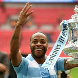 Manchester City's Raheem Sterling has spoken out against racism. — AFP