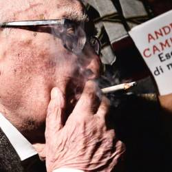 The late Italian author Andrea Camilleri. — AFP Relaxnews