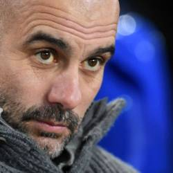 Pep Guardiola has warned his Manchester City stars against getting ahead of themselves when they travel to Newport County in the FA Cup. — AFP