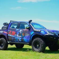 'Blue Monster' Isuzu D-Max 1.9 to do Borneo Safari