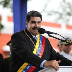 Venezuela President Nicolas Maduro has accused the US administration of being white supremacist imperialists. — AFP