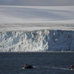 The Pine Island and Thwaites glaciers in Western Antarctica contain enough ice to put sea levels three metres higher. — AFP