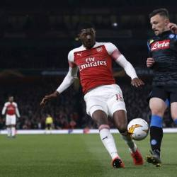 Ainsley Maitland-Niles believes Arsenal are improving due to their European exploits. — AFP