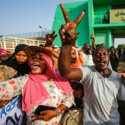 The latest move follows the Sudanese government's release in July of 235 Darfur rebels. — AFP