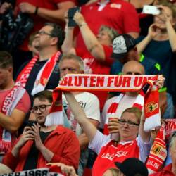 Union Berlin's fans protested against RB Leipzig's ownership with a silent opening quarter of an hour. — AFP