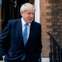 British Prime Minister Boris Johnson stressed that his government wanted to achieve a divorce deal with Brussels. — AFP